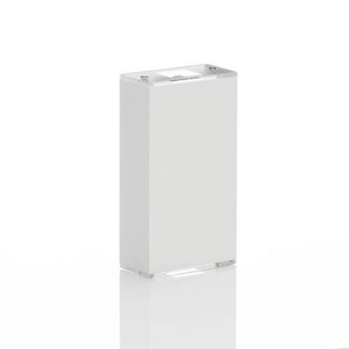 Lucande Anita LED-vägglampa vit höjd 17 cm